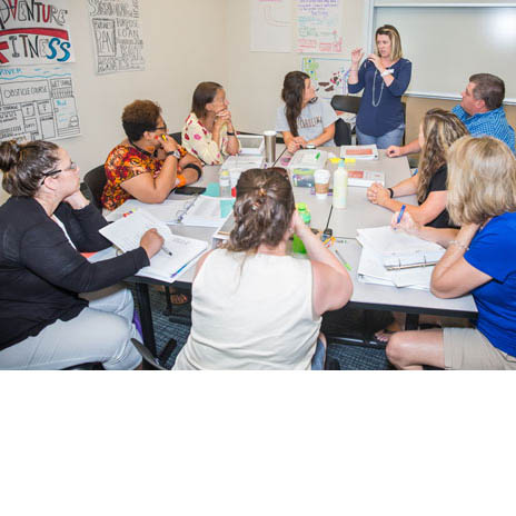 For the second straight summer, Pitt County middle school teachers received training at Pitt Community College on how to embed entrepreneurship principles into their classroom instruction.